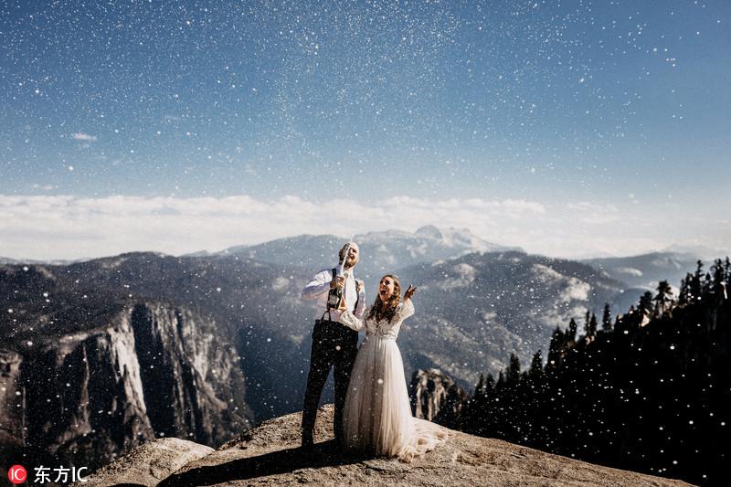2017年最佳婚礼照片出炉 每一张都很惊艳!