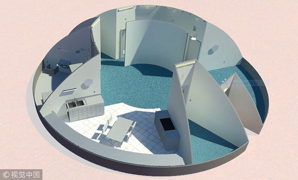 NASA举办火星住宅设计比赛 入围作品图曝光